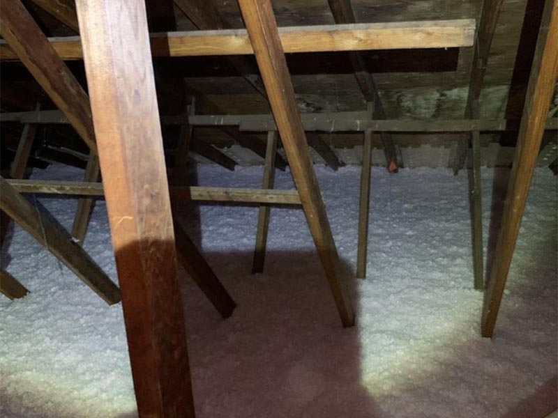 After-Attic Insulation Before and After